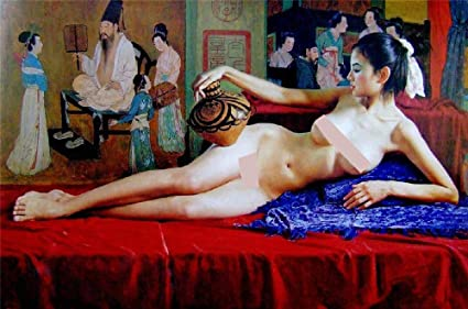 Free nude women jagsaw puzzles Amazon Com Adult Puzzles Nude Art Jigsaw Puzzles Chinese Ancient Woman Lying Assemble Retro Toys Literature And Art Art Funny Intellectual Toys Gift Europe Decorations Classic Toys Games