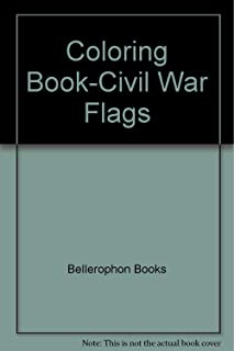 Civil War Flags Coloring Book