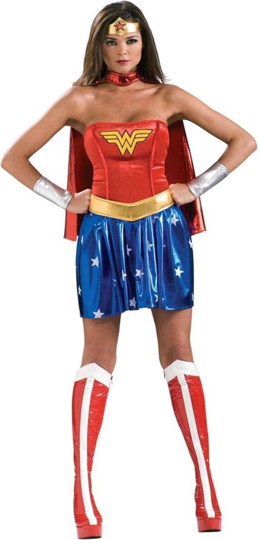 Wonder Woman Adult Costume XSmall  Fits UK Dress Size 68