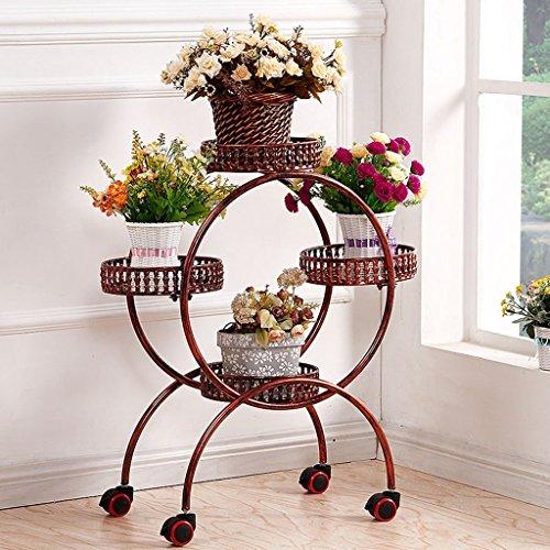 Yxsd smeedijzer meerlagige bloem plank hoek ladder bloempot balkon bloem plank bloemen woonkamer balkon bloem hakken creatief