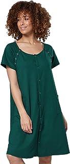 foto ufficiali 20fa4 edc7b Pigiami e camicie da notte HAPPY MAMA Donna Camicia per ...