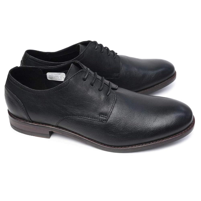 [クラークス] メンズ ビジネスシューズ 079J フロウプレイン 本革 プレーントゥ 紳士靴 Flow Plain