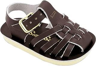 Salt Water Sandals Baby-Girls 4202C10 Sun-san Sailor 10 Toddler Brown