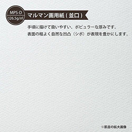 マルマンルーズリーフ画用紙リーフA4(30穴)無地(15枚入)L11355冊組み