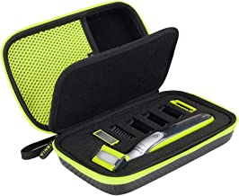 Tisnia Norelco One Blade Case for Philips Norelco One Blade Hybrid Electric Trimmer and Shaver, QP2520, QP2530, QP2620, QP...