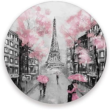 Decor ~ Vivid Coaster Landmarks ~ Eiffel Tower Vintage Style Gift Paris