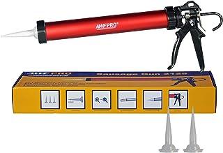 AWF Pro Sausage Caulk Gun, 20 oz Foil Pack / 10 oz Cartridge Convertible, 25:1 Thrust