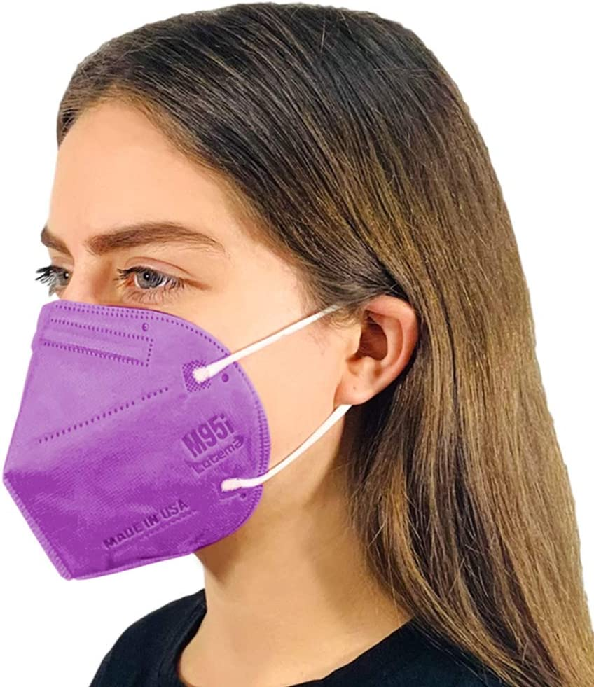 Disposable 5-Layer Efficiency OFFicial store Fresno Mall Protective Adult Face D Mask 5-Ply