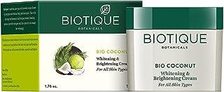 Biotique Coconut Milk Cream for Skin Discoloration and Age Spots 50 Gm