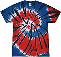 Colortone Patriotic Tie Dye T-Shirts Youth & Adult