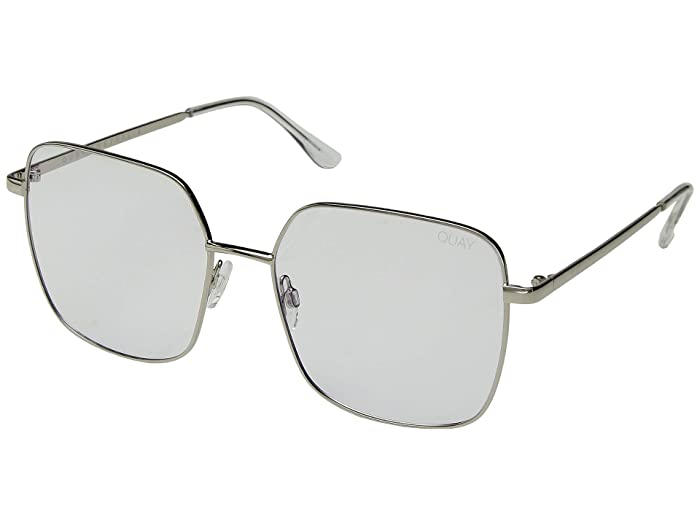 Cheat Sheet (Silver/Clear Blue Light) Fashion Sunglasses