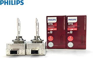 PHILIPS D1S X-tremeVision +150% Gen2 HID Xenon Bulbs 85415XV2 by ALI - Pack of 2