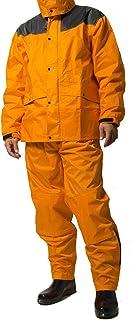 レインスーツ 上下 メンズ (耐水圧:20000mmH2O) (肩/股下 補強加工) (袖口調節機能) (袖裏地メッシュ加工) AS-5400