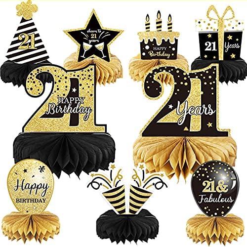21st birthday centerpieces _image1