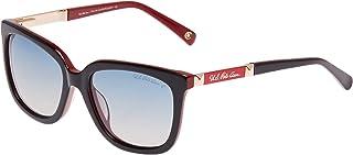 يو.اس. بولو اسن نظارة شمسية بتصميم مربع للنساء - 1708-56-17 - 135 ملم