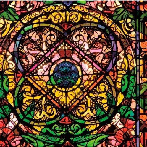 Rohr-Trading.SURFACES Fensterfolie I Sichtschutzfolie I Milchglasfolie I Selbstklebende Folie für Fenster I Kirchenfenster I Buntglas I Bunt - Elisabethtown [200 x 45cm]
