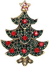 Broche luminoso Accesorios de Ropa Sombrero Su/éter Bufanda Decoraci/ón navidad Regalo Broche de joyer/ía Cosanter 12PCS Broche de navidad