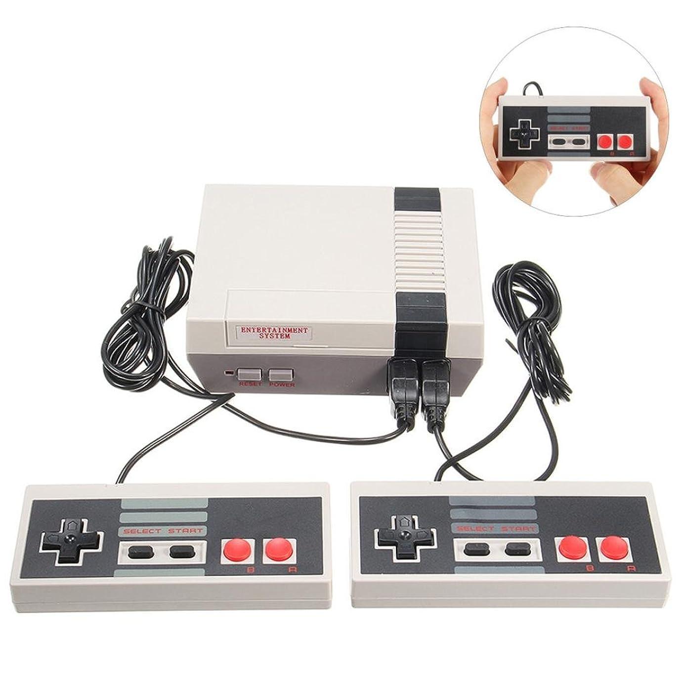合成先検査620種ゲーム ゲーム機 バージョンアップ レトロ懐かしのFCゲーム機 任天堂NESのためのミニクラシック620ゲームコンソールエンターテインメントシステムw / 2ハンドル