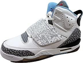 NIKE Grade-School Air Jordan Son of Mars White/Prism Blue-Wolf Grey-Black 512242-109 Shoe