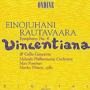 Rautavaara: Symphony No. 6 / Cello Concerto