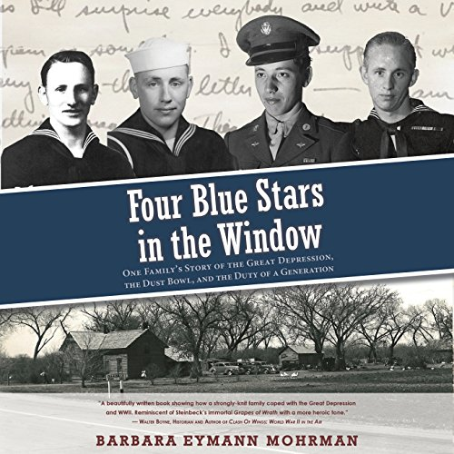 Four Blue Stars in the Window audiobook cover art