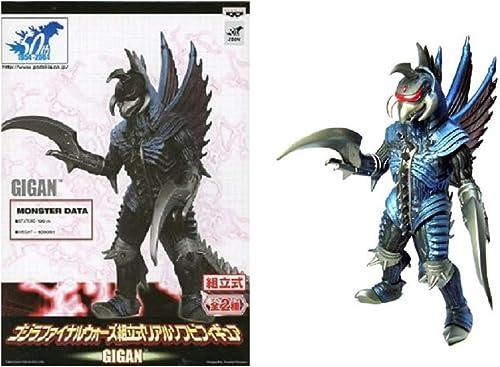 suministro directo de los fabricantes Godzilla 50th 2004 final Wars prefabricado realista realista realista suave vinilo Figura Gigan separado  barato y de alta calidad
