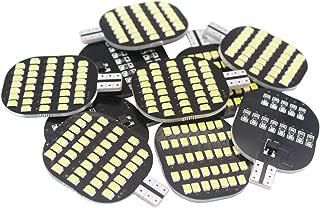 GRV T10 921 194 C921 LED Light Bulb 38-2835 SMD Super Bright Lamp DC12V 13V 2.5Watt for Car Boat RV Trailer Camper Motorhome Ceiling Dome Interior Lights Cool White Pack of 10