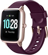 "Letsfit Smart Watch, Fitness Tracker with Heart Rate Monitor, Activity Tracker with 1.3"" Touch Screen, IP68 Waterproof Ped..."