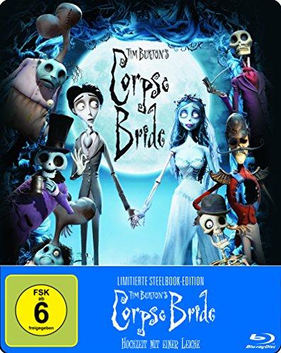 Corpse Bride - Hochzeit mit einer Leiche (Steelbook) (exklusiv bei Amazon.de) [Blu-ray] [Limited Edition]