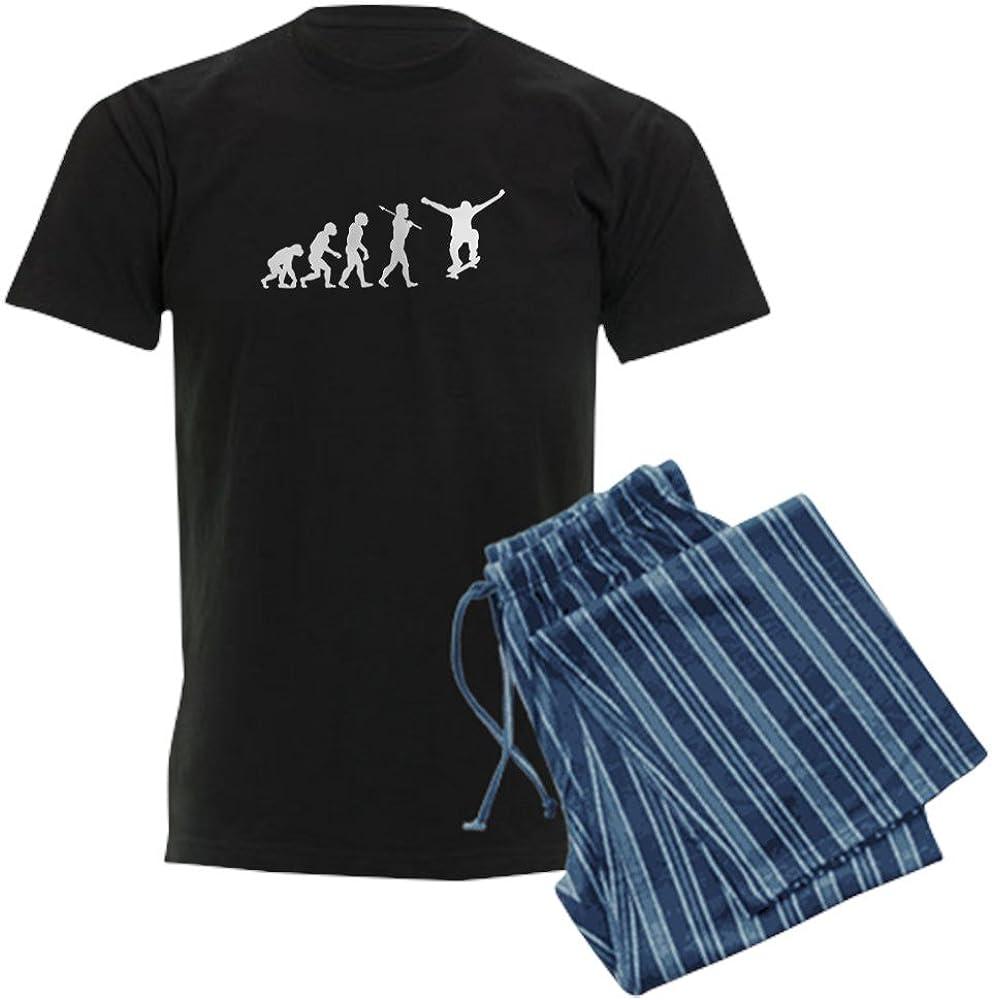 CafePress Skateboarding Evolution Elegant Pajama Set Nippon regular agency