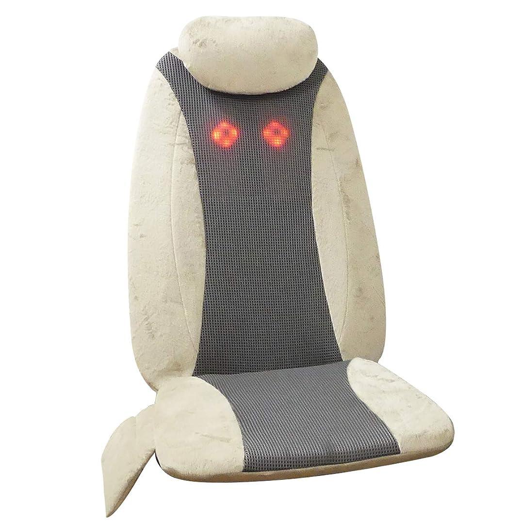 すごい贈り物楽しいクロシオ シートマッサージャー うらら 肩こり 首 肩 腰 背中用 [医療機器認可取得 ハンディマッサージャー 首マッサージャー マッサージ機 スリム ベージュ] 023689