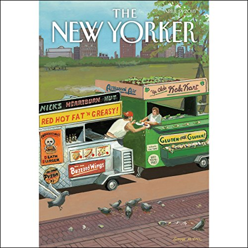 The New Yorker, April 9th 2018 (Jelani Cobb, Alexis Okeowo, Peter Schjedahl)                   By:                                                                                                                                 Jelani Cobb,                                                                                        Alexis Okeowo,                                                                                        Peter Schjedahl                               Narrated by:                                                                                                                                 Kristi Burns                      Length: 2 hrs and 42 mins     4 ratings     Overall 4.0