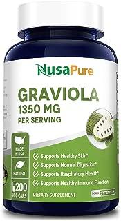 Best soursop capsules benefits Reviews