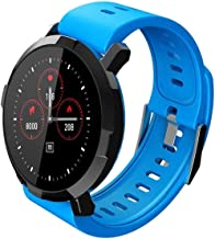 Bluetooth Fitness Tracker voor Mannen Vrouwen Bloeddruk & Hartslagmeter waterdichte Sedentaire herinneren Smart Horloge Te...