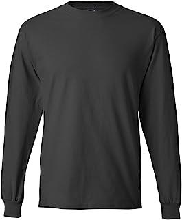 قميص بيفي بأكمام طويلة للرجال من Hanes (عبوة من 2)