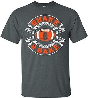 Shake and Bake No. 6 Cleveland Football T-Shirt