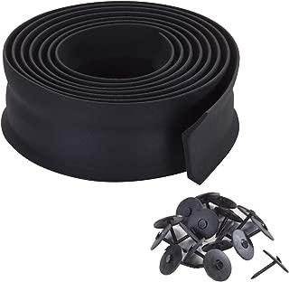 M-D Building Products 3723 M-D 0 Bottom Garage Door Sealer, 2 in W X 9 Ft L X 1 in H, Black