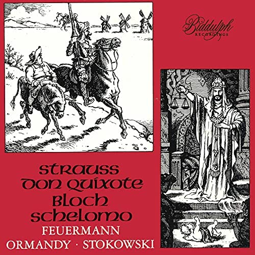 Emanuel Feuermann, The Philadelphia Orchestra, Eugene Ormandy & Leopold Stokowski