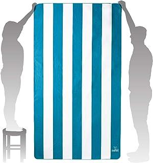 Wise Owl Microfiber Beach Towel (7' x4') - Extra Large Quick Dry Beach Towel Oversized, Super Absorbent Beach & Swim Towel...