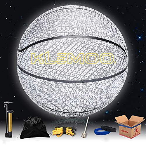 Learn More About YZPXDD Holographic Glowing Reflective Basketball - Handcraft Special Leather for Li...