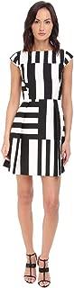 Kate Spade Kite Bow Back Dress, Neutral Multi, 0