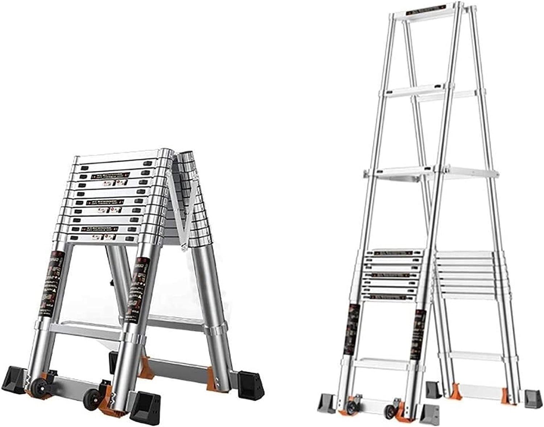 TUOL1AO Popular standard Aluminum Telescopic Extension Colorado Springs Mall Extendable Ladder