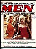 Men 4/1974-Atlas-spicy cover-pulp thrills-Girlie magazine-pin-up-wild issue
