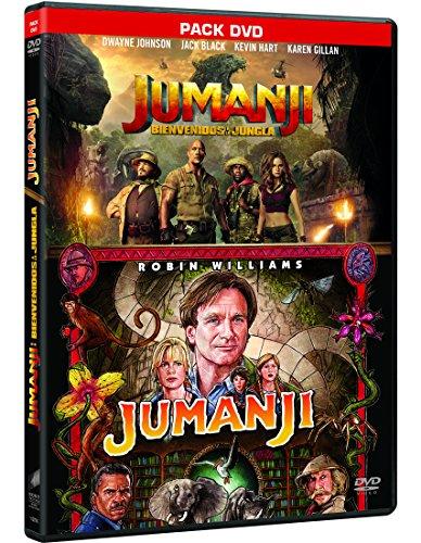Pack: Jumanji (1995) + Jumanji: Bienvenidos A La Jungla [DVD]