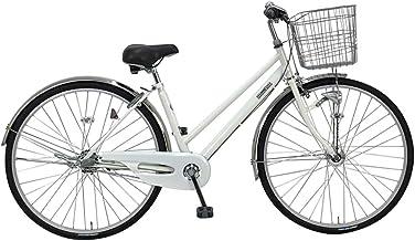 C.Dream(シードリーム) テクノシティオートライト TC71-H 27インチ自転車 シティサイクル ホワイト 100%組立済み発送