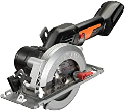 "WORX WX531L.9 Worxsaw 20V PowerShare 4-1/2"" Brushless Cordless Compact Circular Saw, Bare Tool Only"
