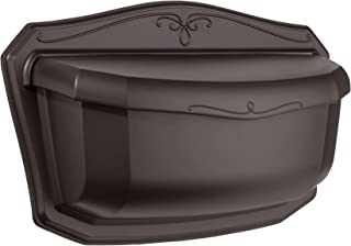 ARCHITECTURAL MAILBOXES 2541RZ-10 Villa Rubbed Bronze Wall Mount Mailbox Large (Renewed)