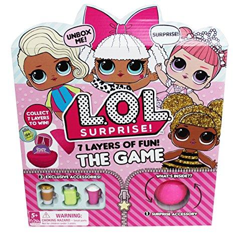 L.O.L. Surprise! 7 Layers of Fun Board Game