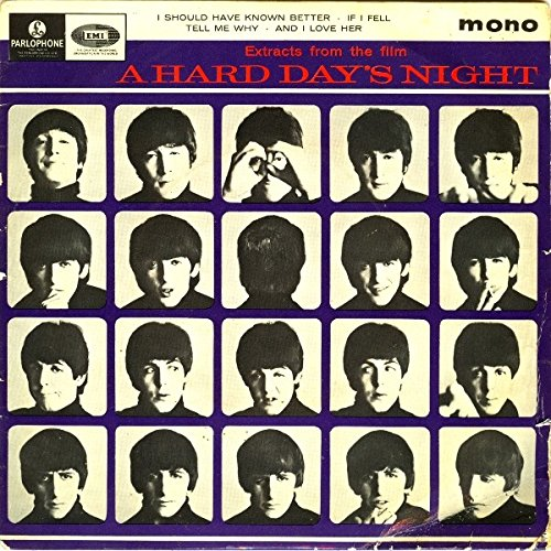 The Beatles - Extracts From The Film A Hard Day's Night - Parlophone - GEP 8920