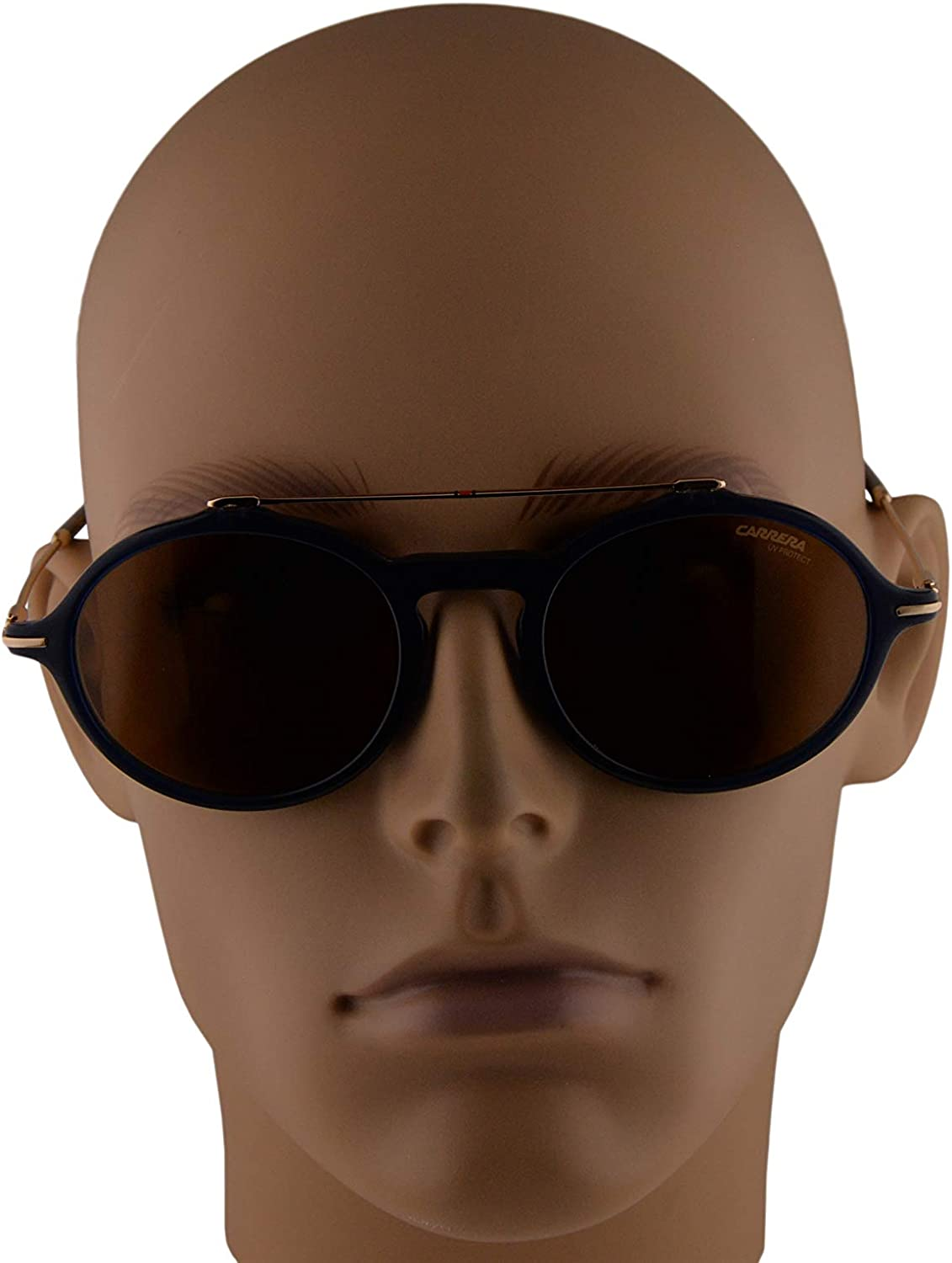 Carrera 195/S Sunglasses Blue w/Brown Lens 50mm PJP70 CA195/S 195S : Clothing, Shoes & Jewelry